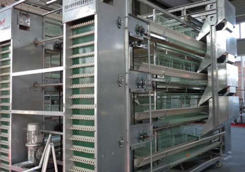 Клеточное оборудование для кур несушек модель Н4-4