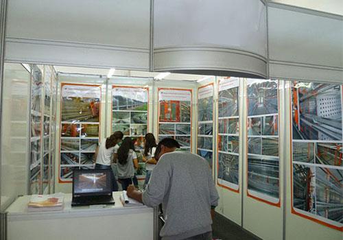 на выставке 2014 с покупателями