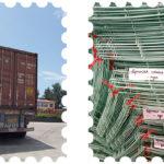 Компания Livi отправила клетки для кур в Узбекистан