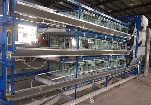 Клетки для бройлеров 9CL(R)-3200 от компании Livi