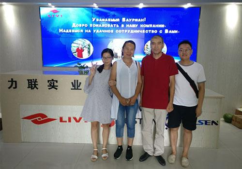 клиенты из Казахстана у нас в гости